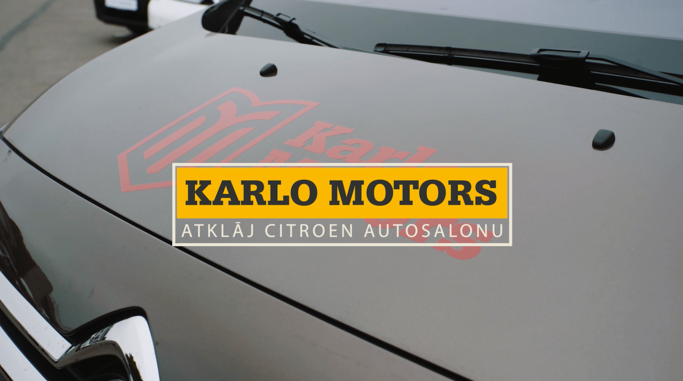 VIDEO: Karlo Motors atklāj Citroen autosalonu