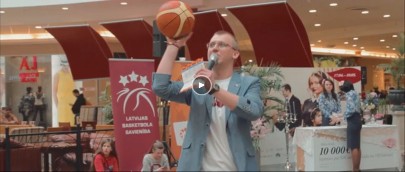 Video: Basketbola diena Spicē 2016