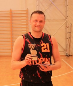 Play-off MVP Atis Slišāns